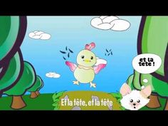 ▶ Comptine : Alouette - YouTube Core French, French Class, French Lessons, French Teaching Resources, Learning French, Kids Learning, French Songs, Active Listening, Animation