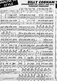 billy cobham drum transcription에 대한 이미지 검색결과