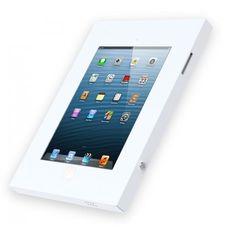 Anti-theft iPad Wall Mount, Screw Lock, White