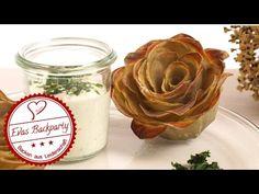 Kartoffelrosen mit Sour Cream Dip – EvasBackparty