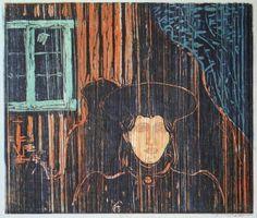Edvard Munch - Moonlight II [1886]