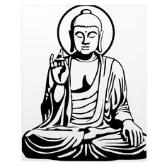 Buddha stencil art displaying 20 gallery images for buddha line art silhouettes - Mobeltattoo vintage ...