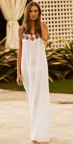 Beach Style2014 - Style Estate - PilyQ 2014 Enjoy Biscayne White Dress