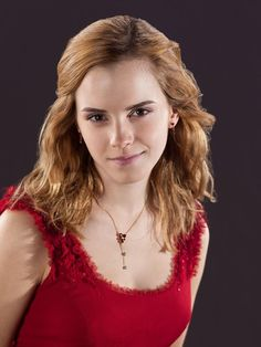 Emma Watson in Red.