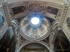Detail inside the Church of San Giorgio al Palazzo in Milan (Italy)