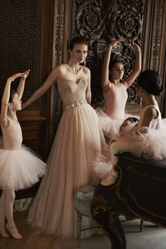BHLDN's ballet-inspired Fall collection: two piece wedding dress