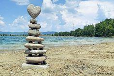 Kő kövön – Kánya Tamás tájművész zseniális Duna-parti kőszobrai