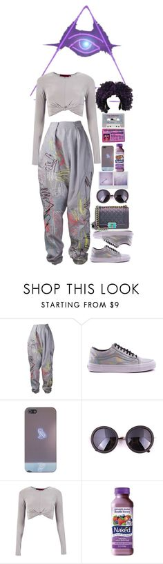 """""""A VISION"""" by adrielle260102 ❤ liked on Polyvore featuring Leutton Postle, Vans, Boohoo, Zone and Chanel"""