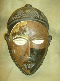 KONGO BAKONGO Tribal Mask Democratic Republic of Congo African Art Collectibles