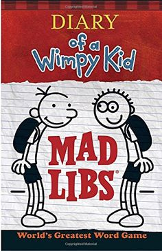 35 best diary of a wimpy kid images on pinterest diary of wimpy diary of a wimpy kid mad libs by price stern sloan httpsmile solutioingenieria Image collections