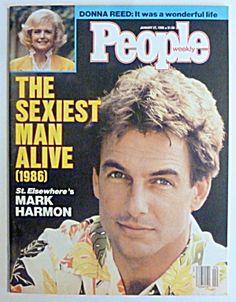 People Magazine January 27, 1986 Mark Harmon