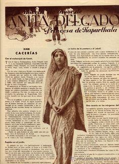 ANITA DELGADO 1936 MAHARANI DE KAPURTHALA
