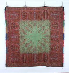 A Paisley Shawl in the Kashmir Manner, Southern France, late 19th century