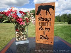 Horse Sign | Horse Gift | Equine Sign | Equestrian Sign | Horse Lover Gift | Equestrian Gift | Equine Decor | Western Pleasure Horse | Horse Showing by LouLouandBonBon on Etsy
