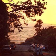 Del Mar sunset Photo by @happymundane on Instagram