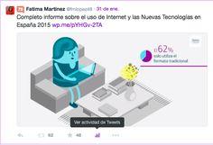#Twitter añade un botón con las estadísticas de nuestros tuits en la versión web.