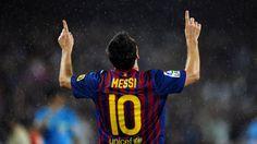 Lionel Messi Goal Celebrating