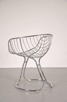 Pan Am armchairs, manufacutred around 1960.