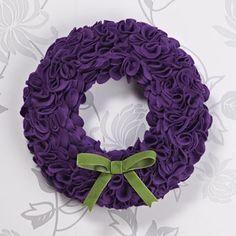 Frilly Felt Wreath | Craft Ideas & Inspirational Projects | Hobbycraft