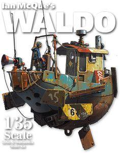Ian McQue's Waldo Preorder!
