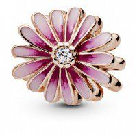925 Sterling Silver Daisy Flower Charm Clip On Charm for Bracelet or Necklace Lily Charmed