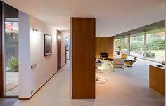 light floor and wood