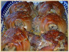 Domowa kuchnia Aniki: Golonka pieczona w piwie na kiszonej kapuście Pork Hock, Polish Recipes, Food 52, Sausage, Food And Drink, Cooking Recipes, Snacks, Chicken, Impreza