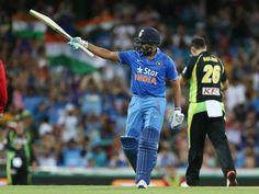 India beat Australia by seven wickets - The Express Tribune Pakistan Daily, Wickets, Series 3, Daily News, Beats, Australia, India, Baseball Cards, Sports