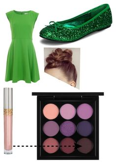 Tinker bell by mqweber on Polyvore featuring polyvore, fashion, style, French Connection and MAC Cosmetics