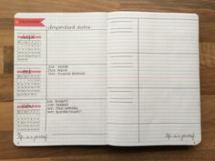 """study-read-study: """"31-10-2015 / So I've been asked by a few people to post my bullet journal setup so here it is! I still have some work to do with regards to my timetable pages so I haven't included..."""