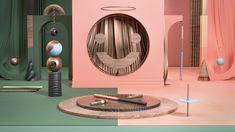Trukru Studio - motion design, vizuály a animácie Motion Design, Banks, Bathroom Lighting, Bookends, Mirror, Studio, Home Decor, Bathroom Light Fittings, Bathroom Vanity Lighting