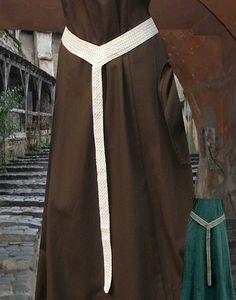 KOSTÜMTRUHE   Verkauf & Versandhandel, mittelalterliche Kleidung, Kostüme & Gewandungen, Zubehör aus Ritterzeit und Piratentum - Langgürtel einfach aus Baumwolle