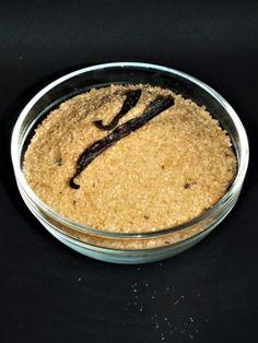 Vanilkový třtinový cukr Sugar, Homemade, Home Made, Diy Crafts, Hand Made, Diys