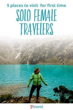 Trying to pick a travel destination for the first time as a solo traveler can be daunting to say the least, especially if you are a woman. Here are 5 easy places to visit for solo female travelers.  #solotravel #traveltips #vacations #travel #traveling