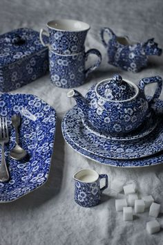 Burleigh English tableware are truly iconic with their rich heritage. Find a classic Calico design to adorn your tabletops for years to come: http://www.liberty.co.uk/fcp/categorylist/designer/burleigh