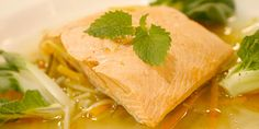Wild Salmon in Citrus Nage - Food Network Canada