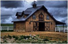 my dream barn house Farm Barn, Old Farm, Dream Barn, My Dream Home, Dream Homes, Barn Living, Country Barns, Country Life, Country Living
