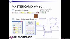Advanced Training on MasterCAM-X9-2D Milling