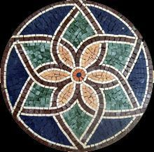 Our mosaic tiles are hand cut from natural marble and mounted on mesh for easy worldwide delivery. Mosaic Stepping Stones, Stone Mosaic, Mosaic Glass, Glass Art, Tile Crafts, Mosaic Crafts, Mosaic Projects, Mosaic Tile Table, Mosaic Art