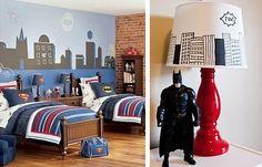 20 Ideas increíbles para tener una habitación de super héroe | Más Chicos