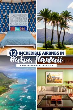 Are you looking for fabulous places to stay in Oahu, Hawaii? Here are 12 Incredible Airbnbs in Oahu + the top things to do in Oahu during your Hawaii vacation! I where to stay in Oahu I accommodation in Oahu I Oahu accommodation I Airbnbs in Hawaii I accommodation in Hawaii I where to stay in Hawaii I Hawaii Airbnbs I USA travel I places to stay in Hawaii I places to go in Oahu I where to go in Oahu I Hawaii getaway I things to do in Hawaii I #Hawaii #Oahu Honeymoon Hotels, Hawaii Honeymoon, Hawaii Vacation, Oahu Hawaii, Hawaii Travel Guide, Usa Travel Guide, Travel Usa, Travel Tips, Travel Guides