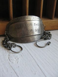 Bracelet - But for the Grace of God - this was one of my mother's favorite sayings.