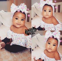 Skyla A'Lori - 7 Months • Haitian & Caucasian ♥️ FOLLOW @BEAUTIFULMIXEDKIDS http://instagram.com/beautifulmixedkids