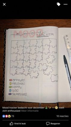 15 Awesome Mood Trackers to Try in Your Bullet Journal – Simple Life of a Lady 15 Awesome Mood Tracker zum Ausprobieren in Ihrem Bullet Journal – Einfaches Leben einer Dame Bullet Journal Tracker, Bullet Journal 2019, Bullet Journal Notebook, Bullet Journal Themes, Bullet Journal Layout, Bullet Journal Inspiration, Book Journal, Journal Ideas, Bullet Journals