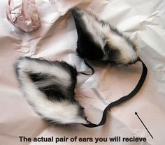 For sale! A set of black ears direct from Beetle by *Beetlecat on deviantART