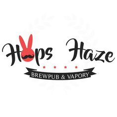 Create a mature, lovable rabbit for craft beer pub Brewpub serving great beer and food. Also a Vapory offering vapor (ecig) products...