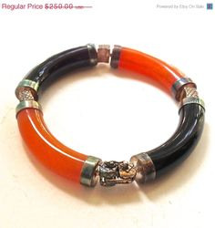 SALE Rare Antique Jade Bangle Bracelet  by RighteousRecycling, $212.50