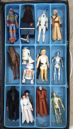 Vintage Kenner Star Wars figures