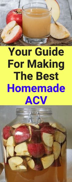 Your Guide For Making The Best Homemade Apple Cider Vinegar!!! - All What You Need Is Here