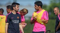 La preparación física del Barça
